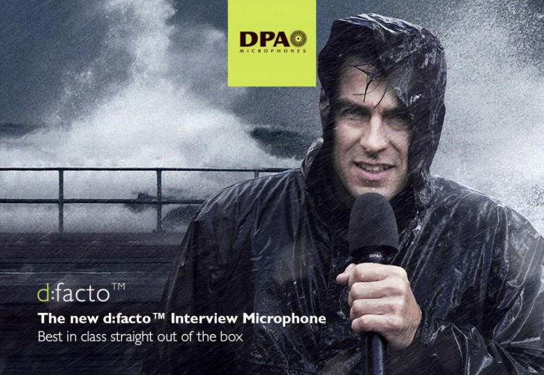 DPA d:facto™ Interview Microphone