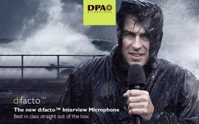 DPA d:facto™ — уникальный репортажный микрофон