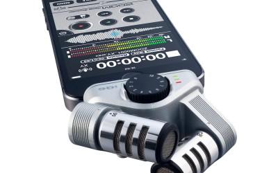 Zoom iQ6 XY Стерео микрофон для iPhone + iPad