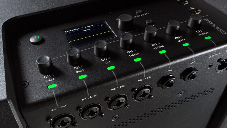 JBL PRX ONE Control Panel