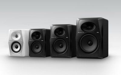 Pioneer DJ VM50, VM70, VM80 — професійні монітори для діджеїв та музикантів